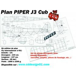Plan Piper J3 Cub